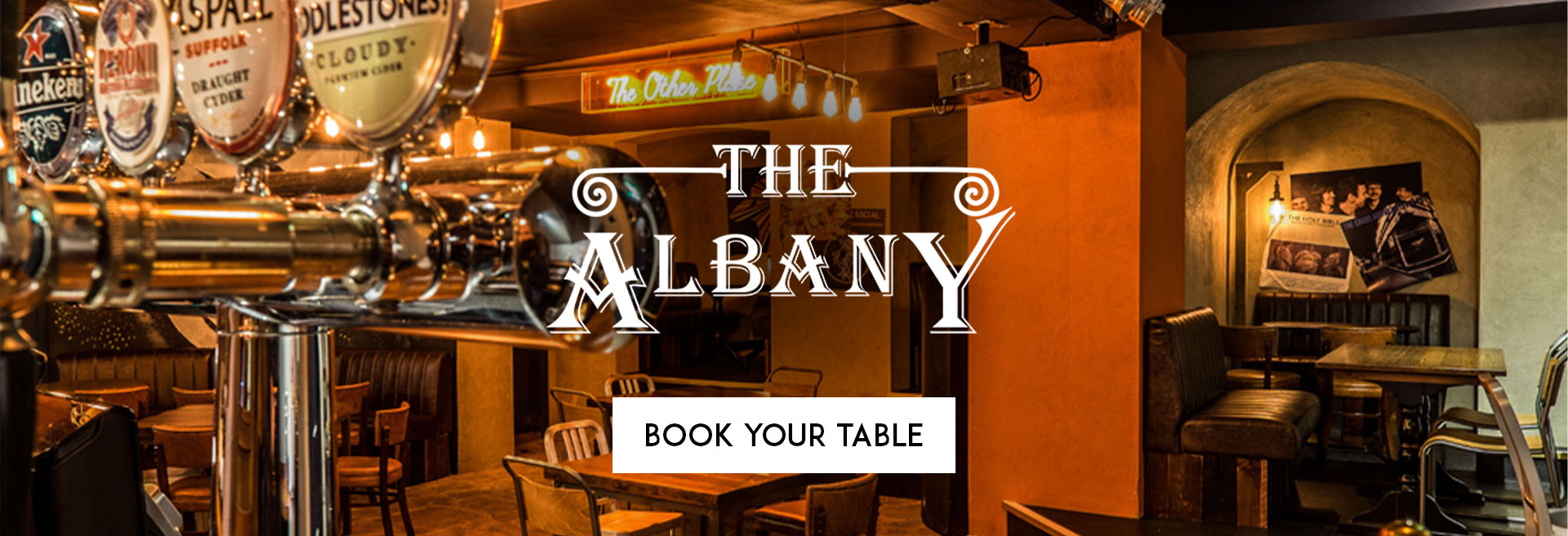Book Your Table The Albany